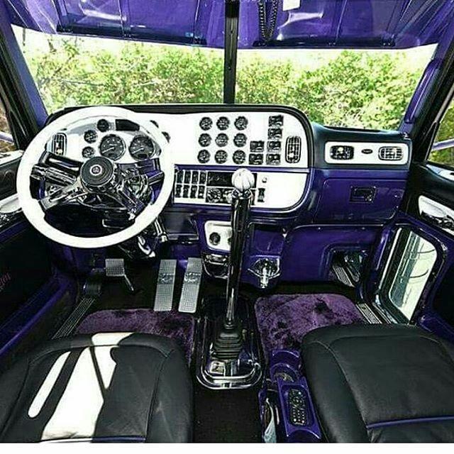 Peterbilt Custom 379 Interior Inside Semi Insane Trucks And Truck