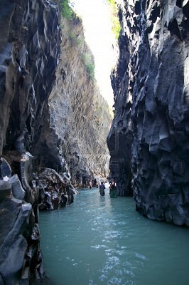 The Alcantara Gorges, Sicily ,, Really wow , oh my lord .