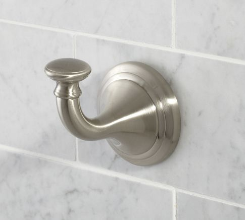 Mercer Hook | Pottery Barn. Bathroom HardwareBathroom Sink FaucetsBathroom  ...