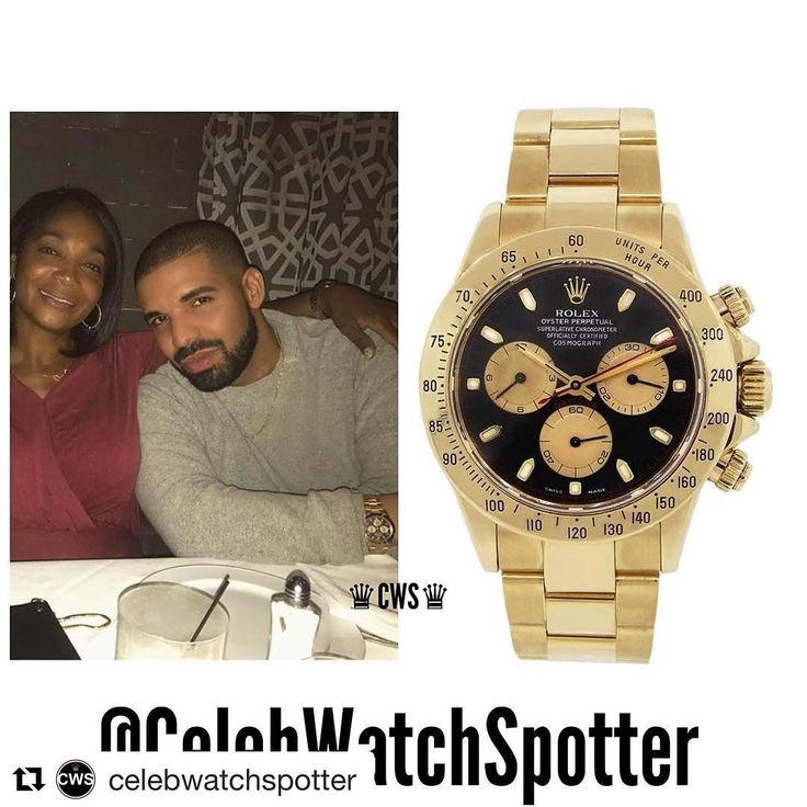 ���� #Repost @celebwatchspotter (@get_repost) ・・・ Rapper; Drake was spotted wearing an 18K Gold Rolex Daytona with a 'Paul Newman' dial. Reference-116528 ⌚️�� @champagnepapi •••••••••••••••••••••••••••••••••••••••••••••••••••••• Price -UK Price List-£28,000  #CelebWatches ••••••••••••••••••••••••••••••••••••••••••••••••• #watch #watches #celebrities #celebrity #fashion #patek #rolex #richardmille #rolexgang #timepiece #instawatch #audemars #richlife #rich #wealth #money #spotter #drake…