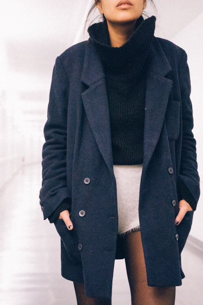 Urban Outfitters Mid Thigh Blazer Coat