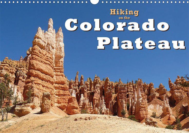 "Reisekalender ""Hiking on the Colorado Plateau"", Cover"