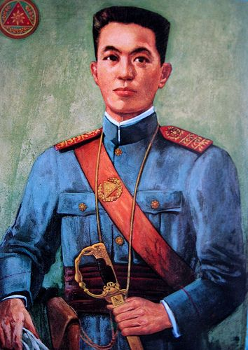General Emilio Aguinaldo - the first President of the Philippines during the time of the Philippine-American War