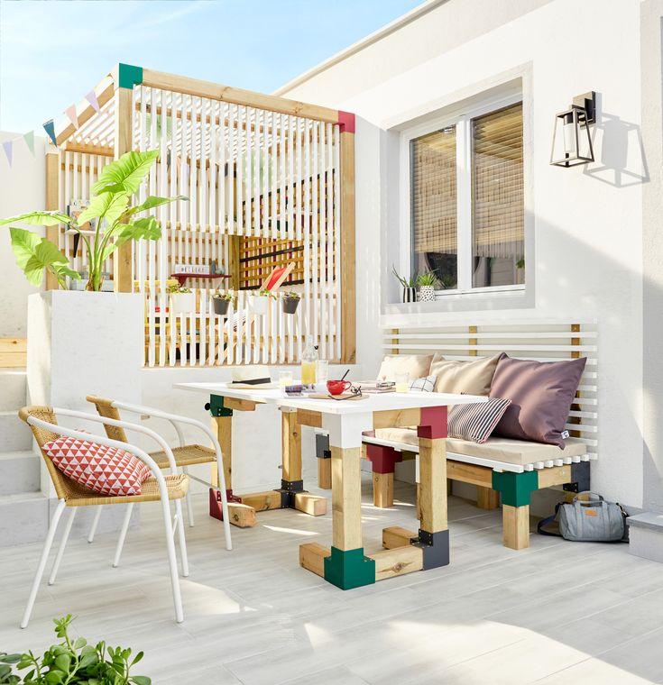 81 best terrasse et balcon images on pinterest. Black Bedroom Furniture Sets. Home Design Ideas