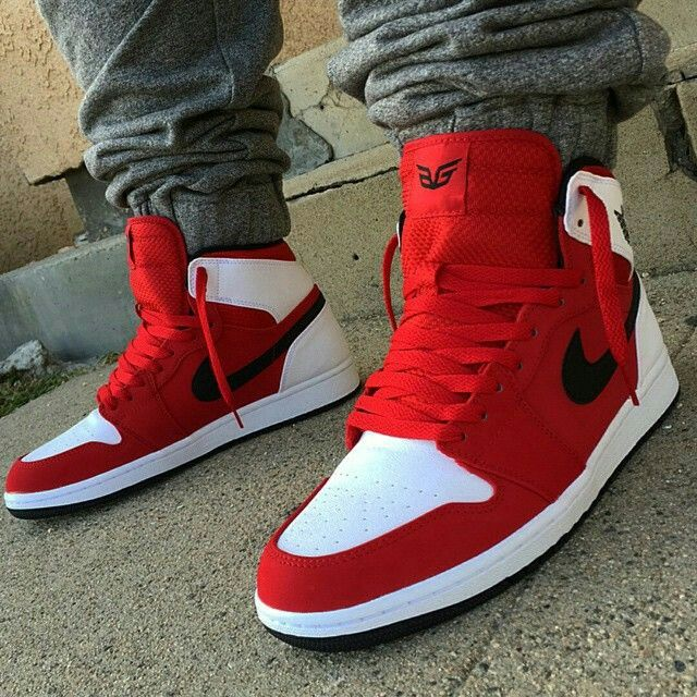 red jordan shoes for men