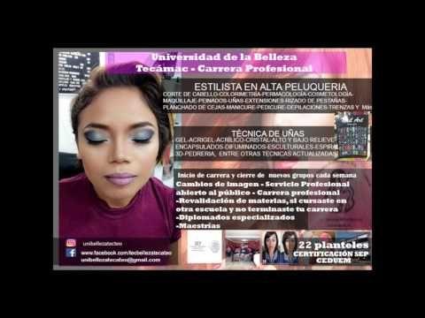 carrera de belleza Tecámac - YouTube