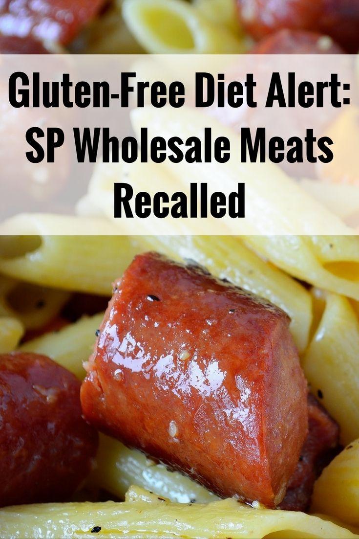 Celiac disease alert: SP Wholesale Meats recalls sausages for undeclared gluten
