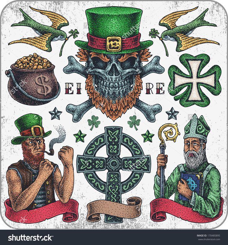 Irish St Tattoo: Best 25+ Irish Tattoos Ideas On Pinterest
