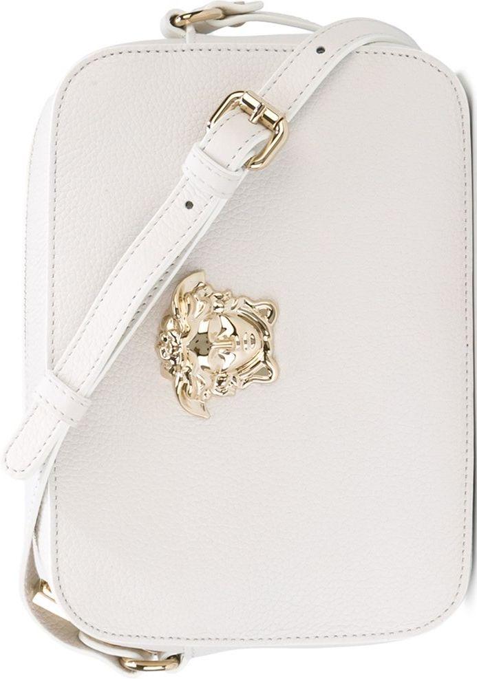 •Website: http://www.cuteandstylishbags.com/portfolio/versace-white-palazzo-medusa-shoulder-bag/ •Bag: Versace White 'Palazzo Medusa' Shoulder Bag