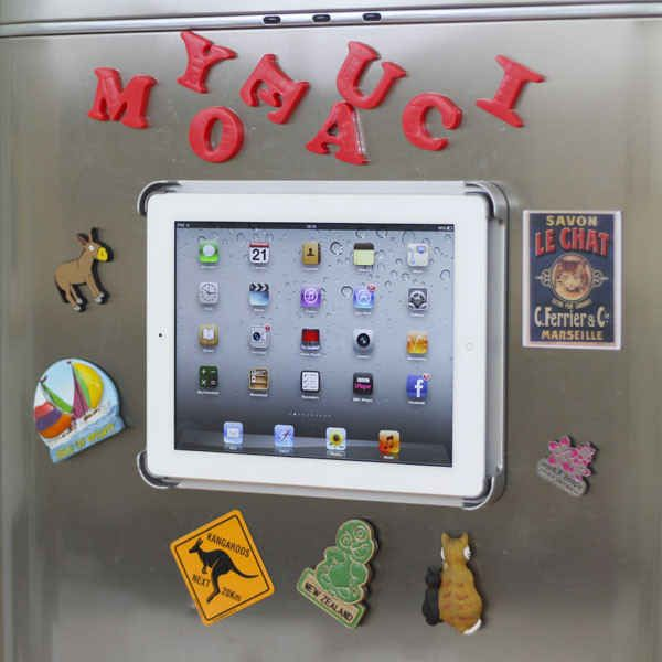 Magnetic Refrigerator iPad Mount, $55 | 31 Clever Tech Gifts You Might Want To Keep For Yourself