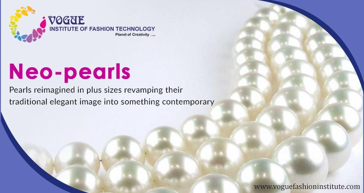 #JewelryTrends2017:  Pearls reimagined in plus sizes revamping their traditional elegant image into something contemporary and new are doing the rounds in runways these days.  Neo-pearls as these are popularly called are making heads turn at all popular #fashion events. Watch this space for more such interesting info on latest #jewelry #trends. #VIFT #JewelryTrends