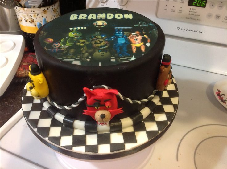 Brandon's 13th birthday party - Five nights at freddys theme, August 5, 2016