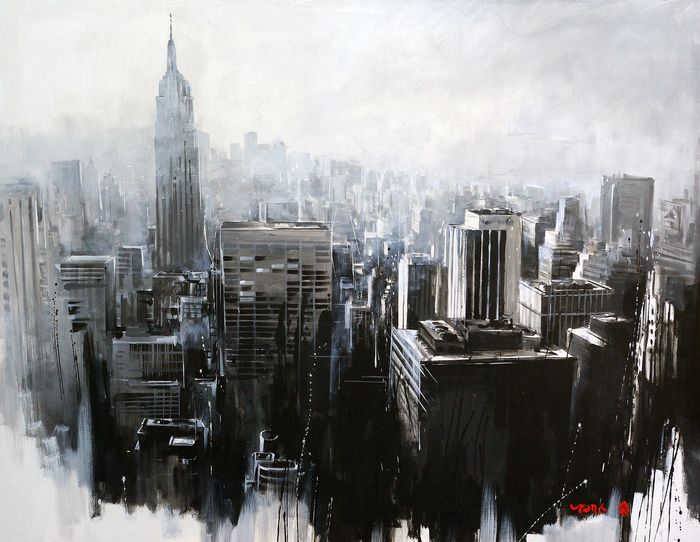 """Fog and Shadow"" Art Print by Van Tame on Artsider."