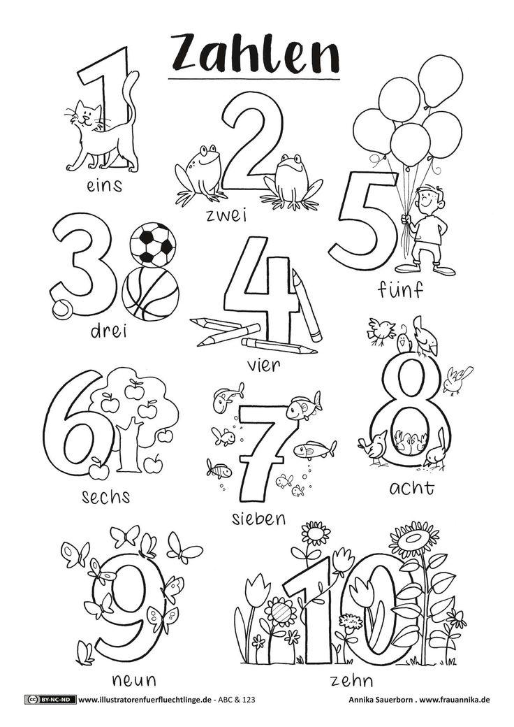 Download als PDF: ABC und 123 – Zahlen – Sauerborn