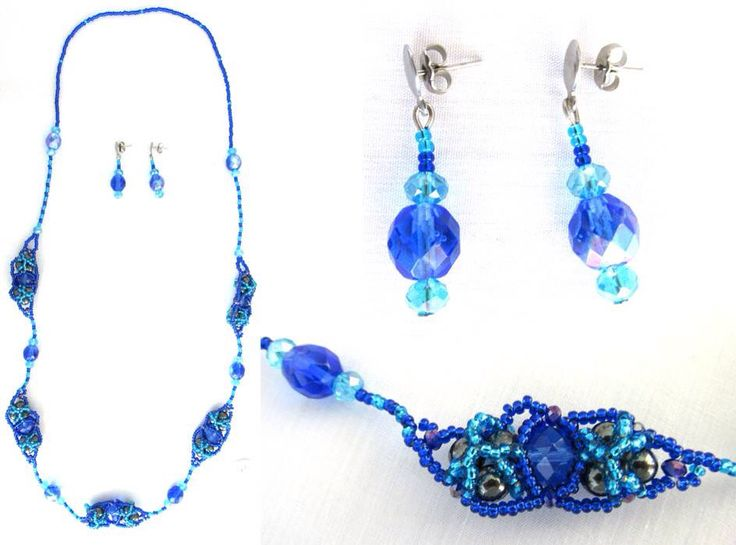 Necklace Blue, Jewerly