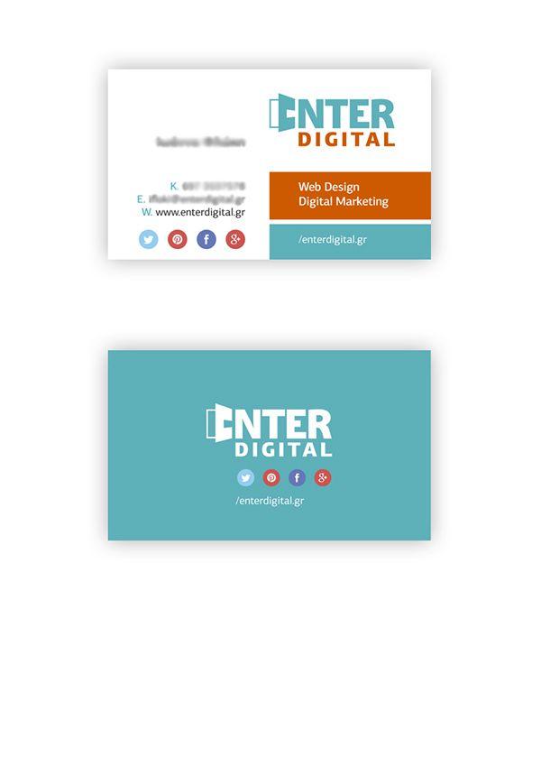 Enter Digital Business card