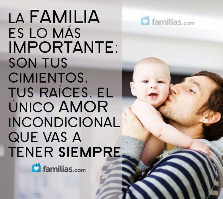 La familia es lo más importante
