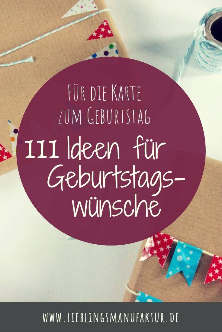 Geburtstagswünsche Karte.Geburtstagswünsche 111 Ideen Für Deine Karte Lieblingsmanufaktur