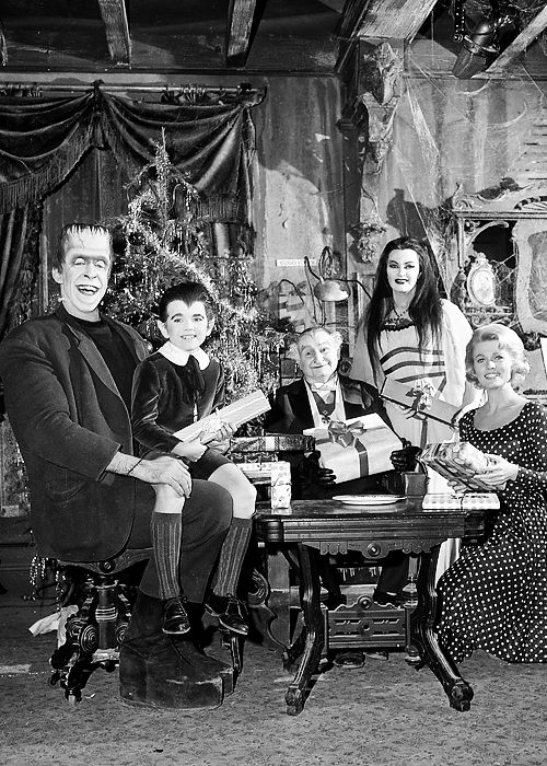 the munsters Christmas episode | The Munsters Christmas 60s nostalgia