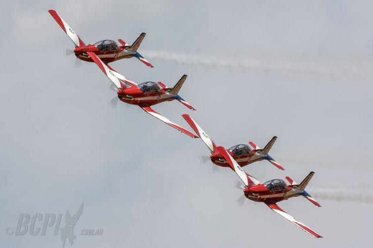 RAAF Roulettes - Warbirds Downunder 2013 Temora