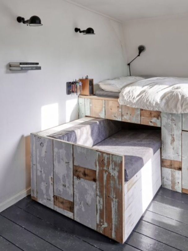 """This cool children's bed is from our feature """"Urban Cool"""""""