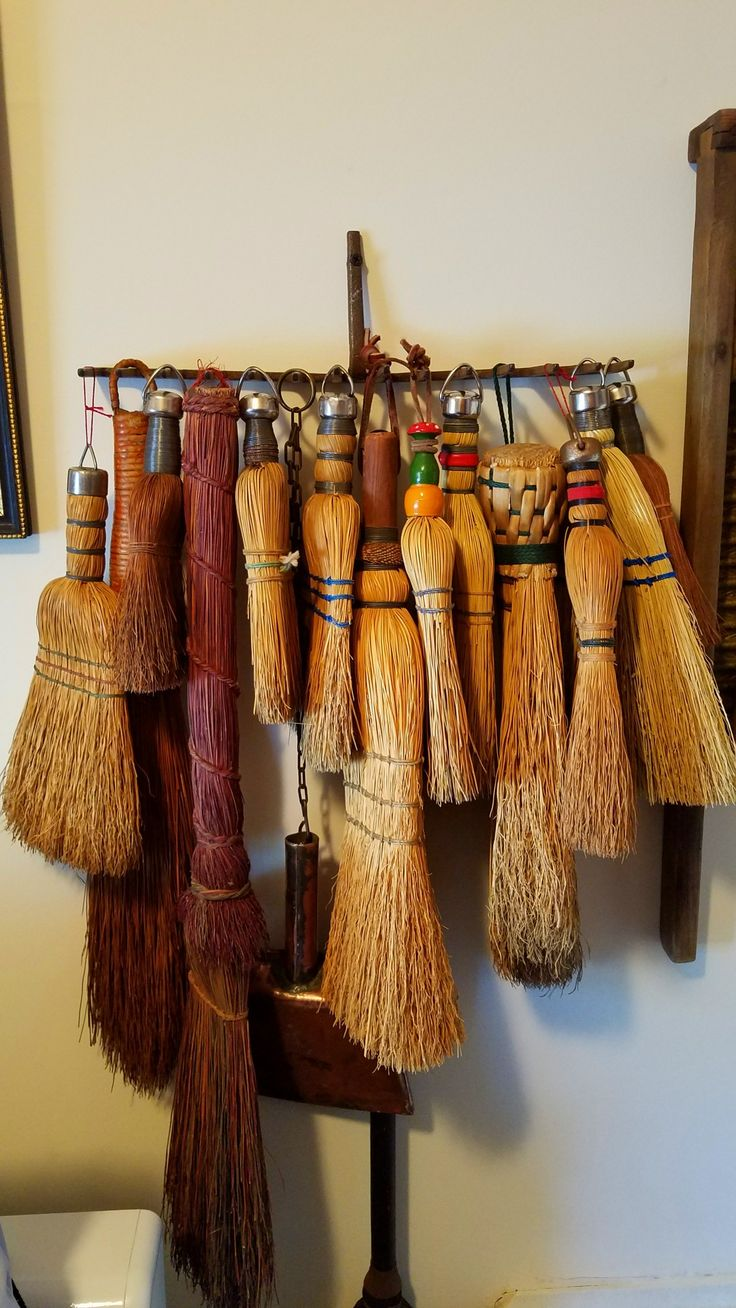 847 Best Brooms And Brushes Images On Pinterest Prim