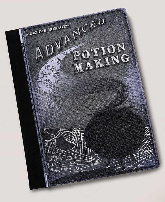 Advanced Potion Making Handbook Harry Potter inspired Leather ipad Case for 2, 3 or 4, ipad Air
