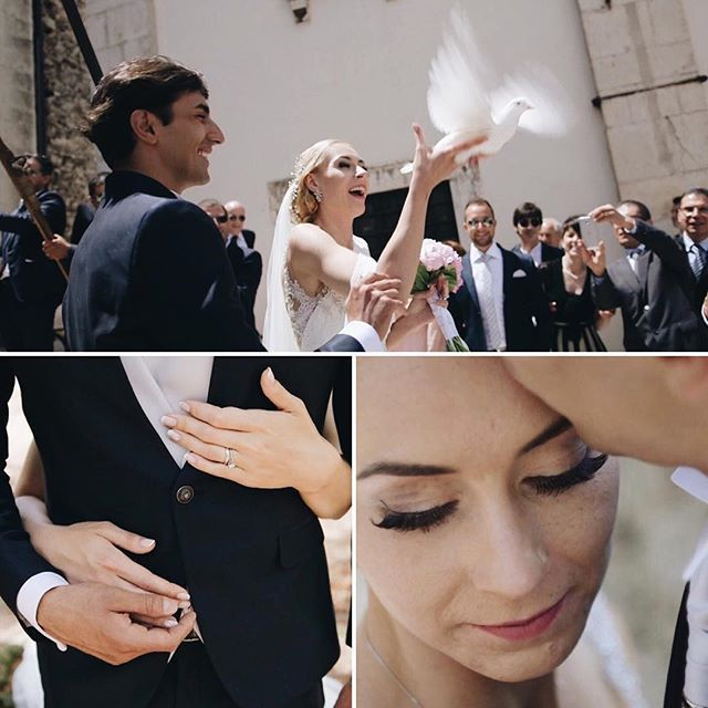 Saturday was great flying with Alicia and Matteo #video #weddingvideo #weddingfilm #film #stillframe #bride #groom #dove #lovers #weddinginitaly #sunnyday #bridetobe #weddingvideographer #videographer #followme #2become1video @ema83imagofactory @vladymoraru @jessicaballeriniwwl @monica_leggio