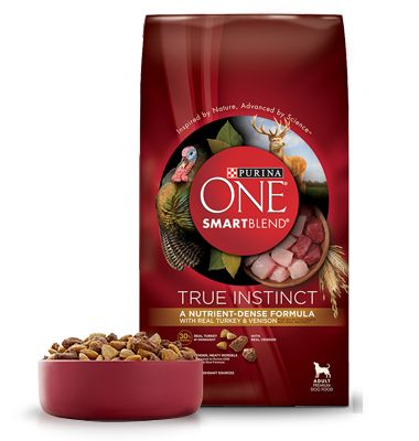Purina ONE® SMARTBLEND® True Instinct Dog Food  #freesample