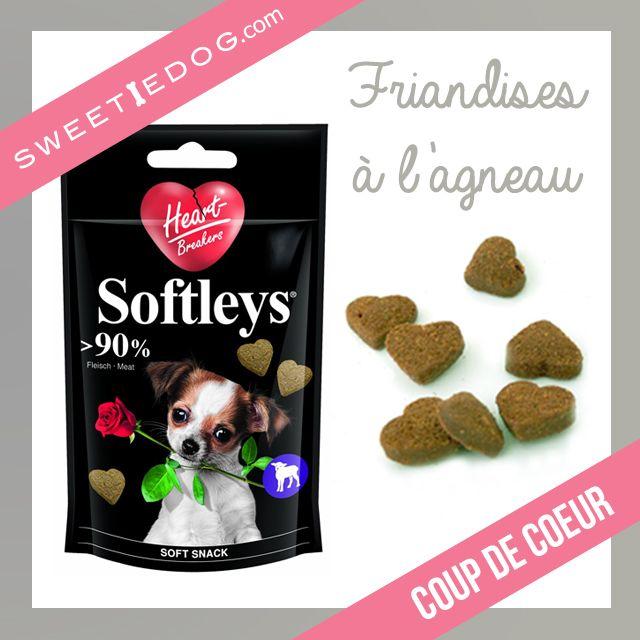 Des friandises pour chiens en forme de coeur pour la Saint Valentin <3 www.sweetiedog.com