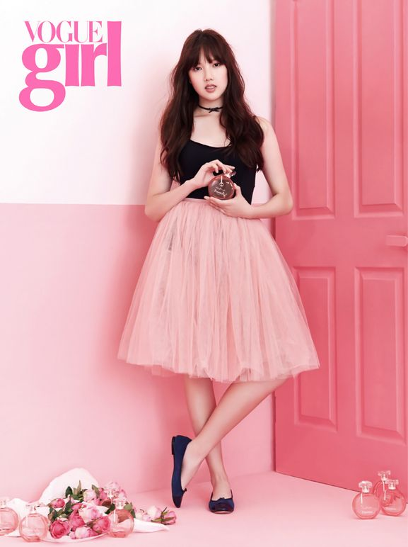 G-Friend member Yerin in Vogue Girl Korea