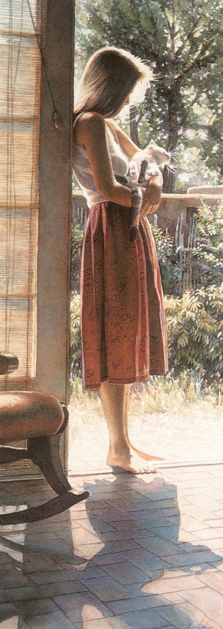 Great painting by Steve Hanks . He really is great ♥