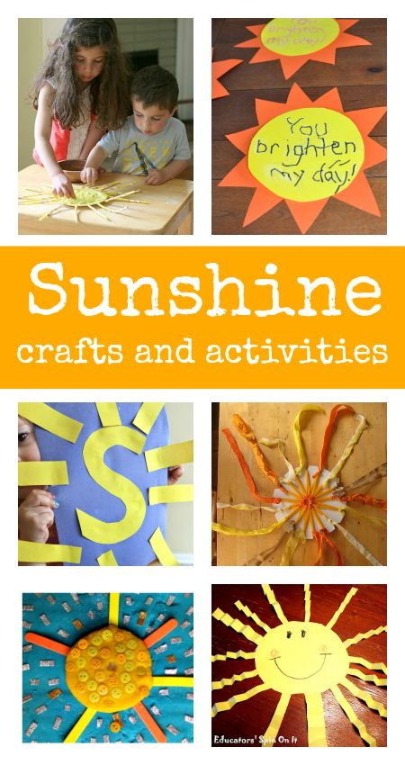 sun crafts and activities :: summer crafts :: sunshine crafts