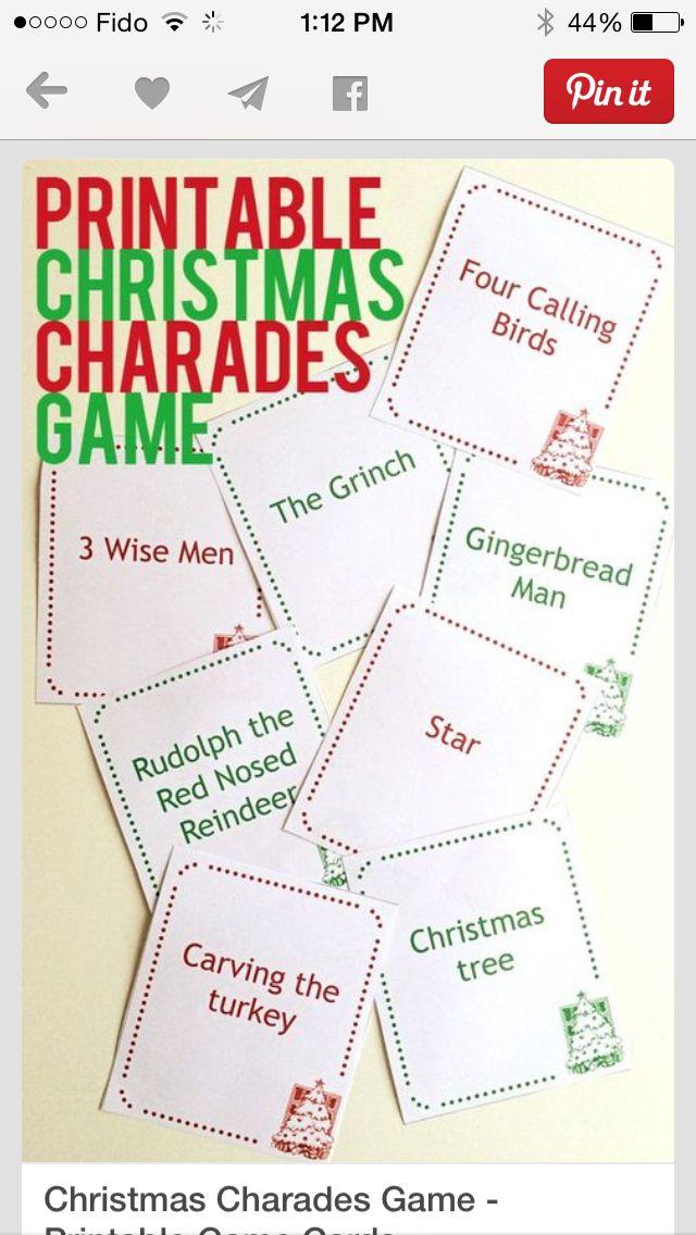 Nate Weiner • Charades Ideas