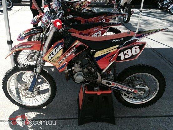 2012 KTM 85 SX (Big Wheel)