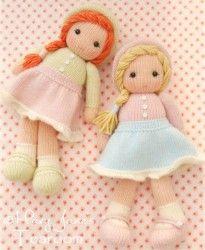 Вязаные куклы спицами мастер класс