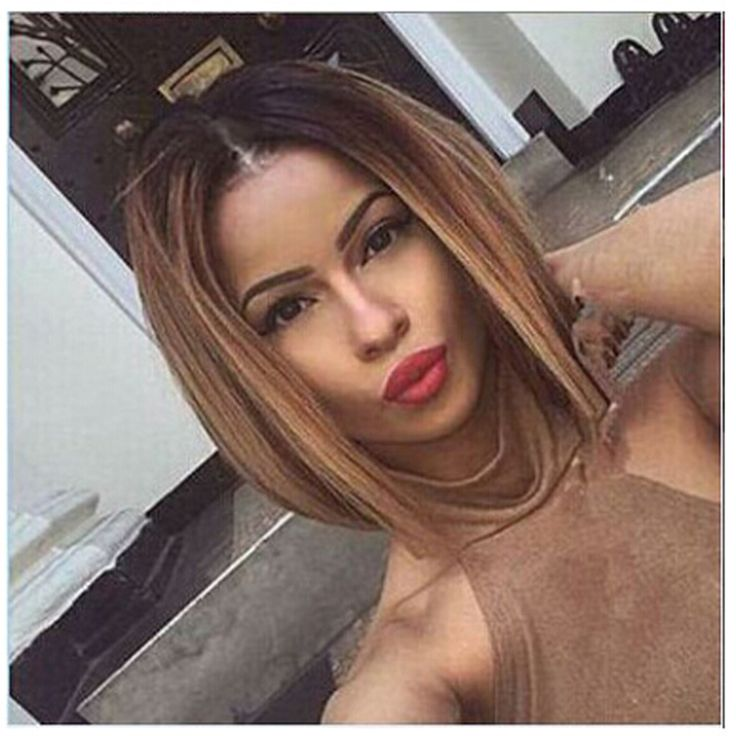 Cheap hair wigs for men price, Buy Quality hair Suppliers:    Cheap Short Bob Wigs For Black Women Heat Resistant Synthtic Wigs With Full Bangs Brown/Blue Ombre Bob Wig Rihanna Ha