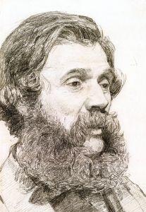 Portrait of William Moore, Jr. - Albert Joseph Moore, A.R.W.S. - The Athenaeum
