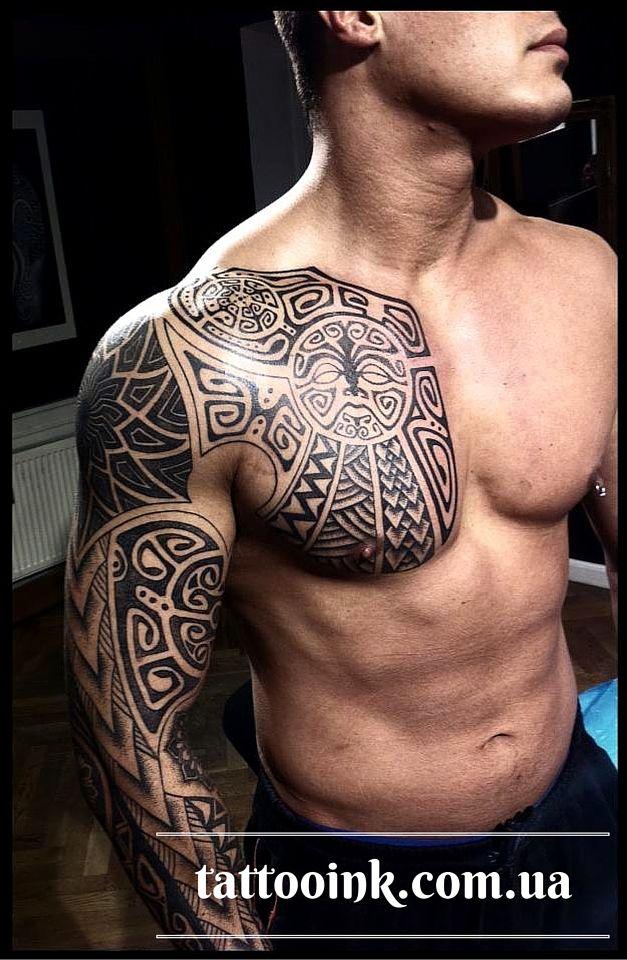 Татуировки в полинезийском стиле