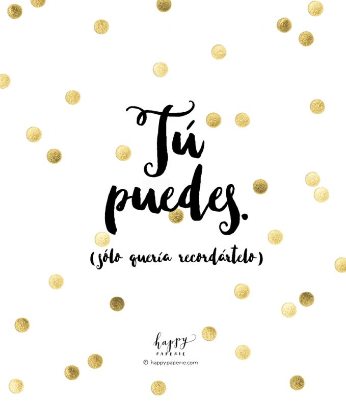 HappyPaperie®TU-PUEDES