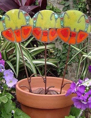 Flores de vitrofusion