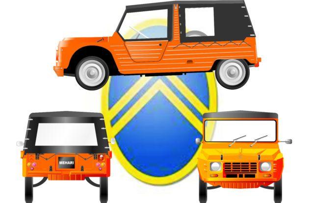 Mehari- logo