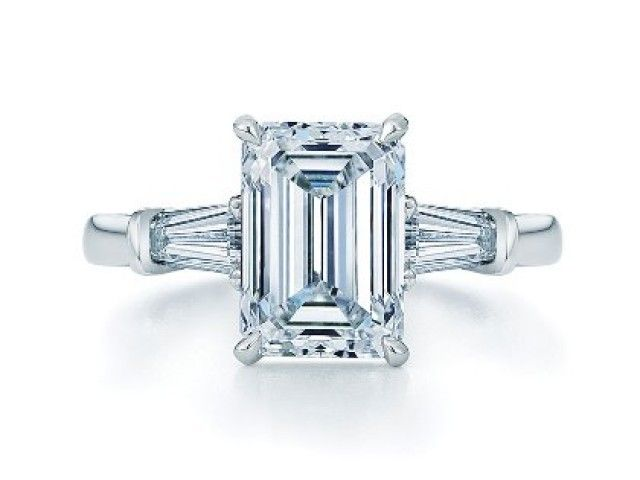 20 best images about emerald cut engagement rings on