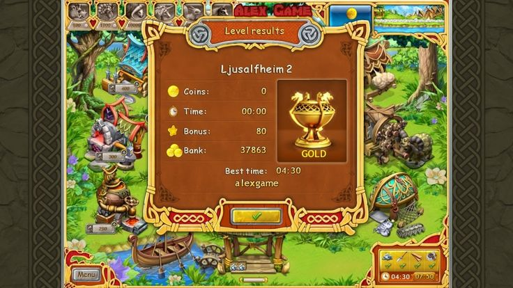 Farm Frenzy Viking Heroes Adventure Ljusalfheim 2 GOLD Веселая ферма Викинги Сюжетная Льесальвхейм 2