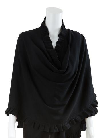 Black Cotton Nursing Cover