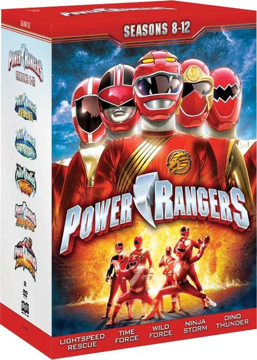 Power Rangers Lightspeed Rescue - Shout! Factory is Roaring and Rescue Ready with 'Seasons 8-12' Box Art