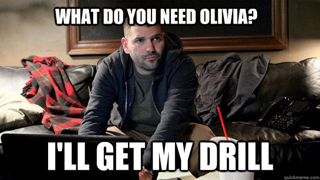 Scandal - What do you need olivia ill get my drill? Love Huck!: Olivia Pope, Things Scandal, Scandal Tv, Guillermo Díaz, Guillermo Diaz Scandal 1 5, Funny Stuff, Scandalous Bitches