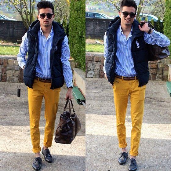 Nice Mustard pants!