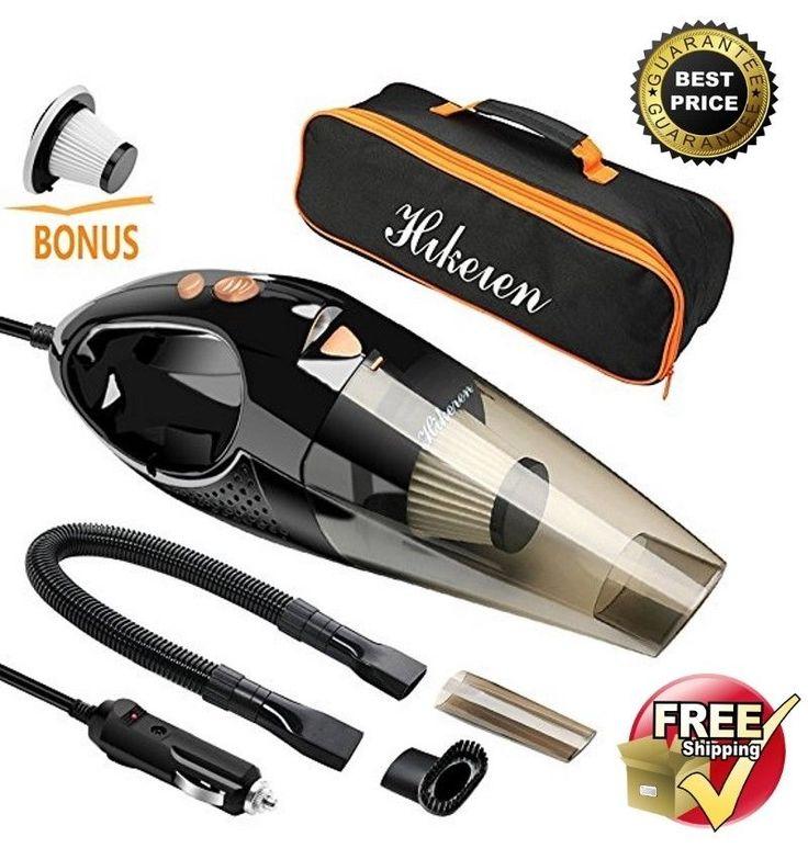 Car Vacuum Cleaner Portable Hand Vacuum Cordless Auto Lithium NEW #Hikeren