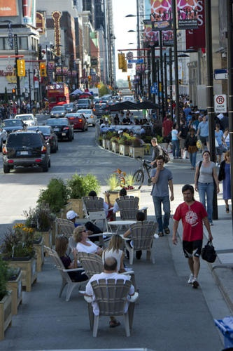 The Star: Yonge basking in the sudden love of a city  (Toronto - Yonge Street)